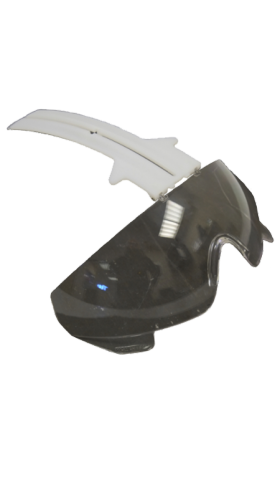 Integrated visor for TR2000 - Smoked glass