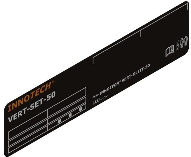 Systemskylt EN353-1 Svenska