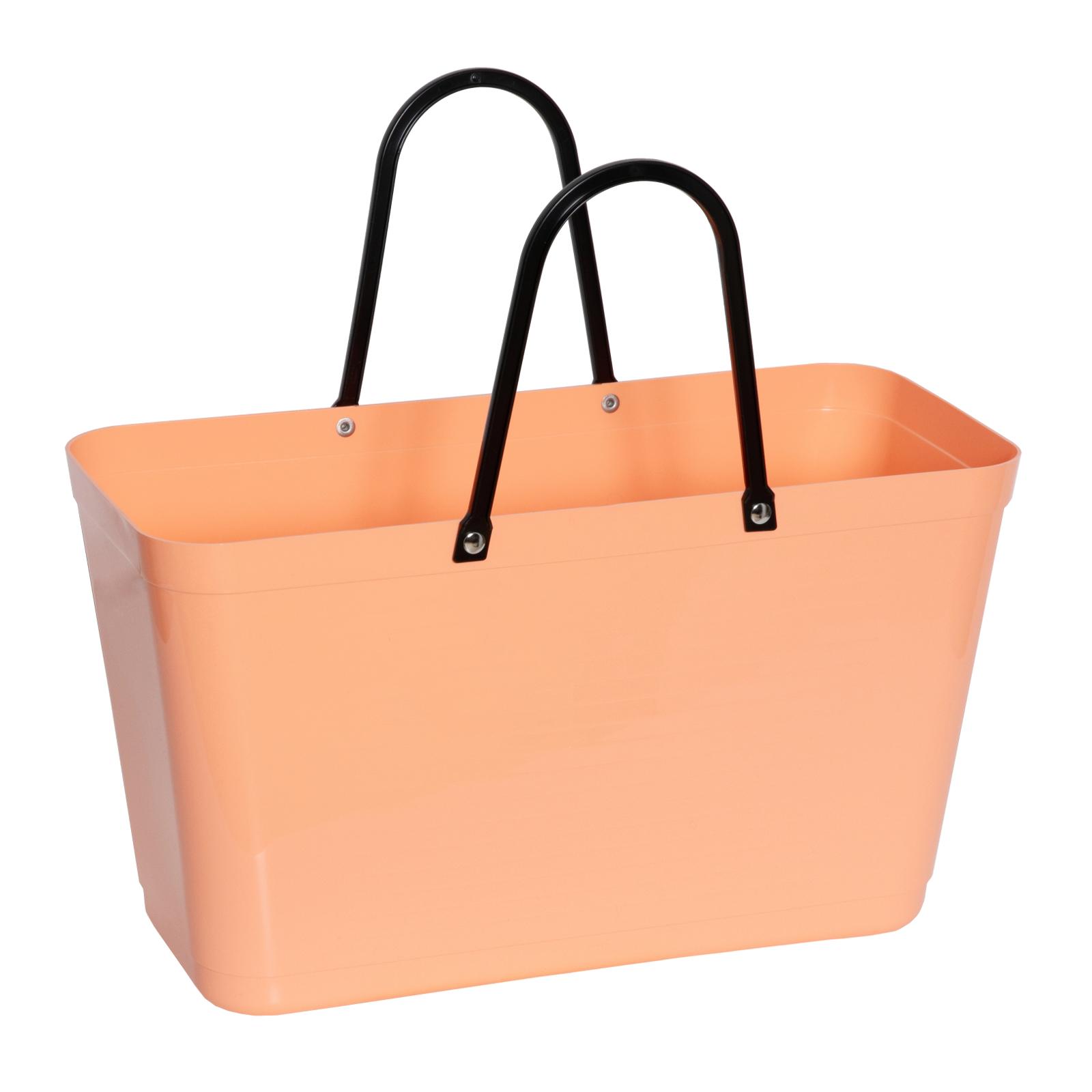 väska i plast med handtag