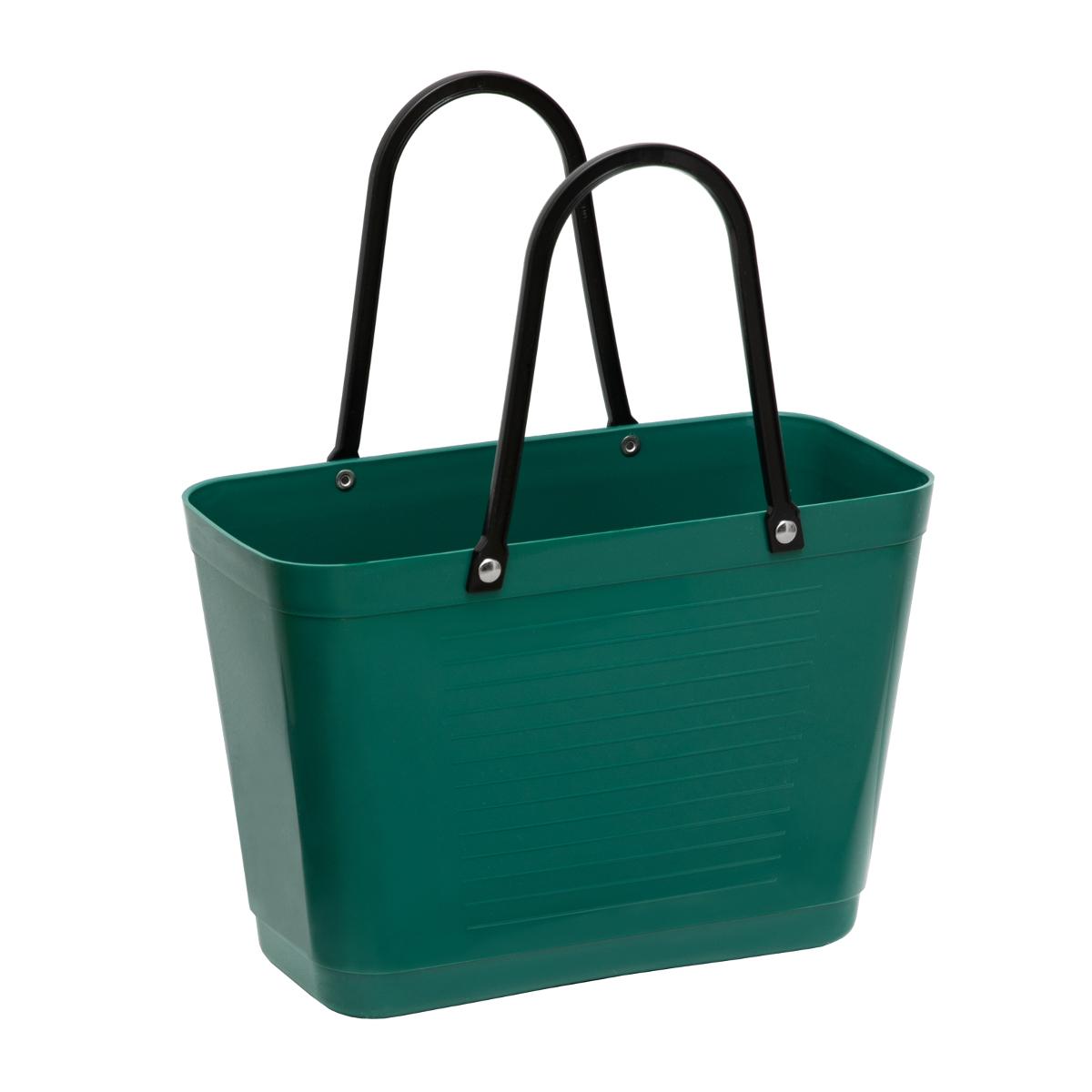 Väska Hinza Liten Mörkgrön Green Plastic