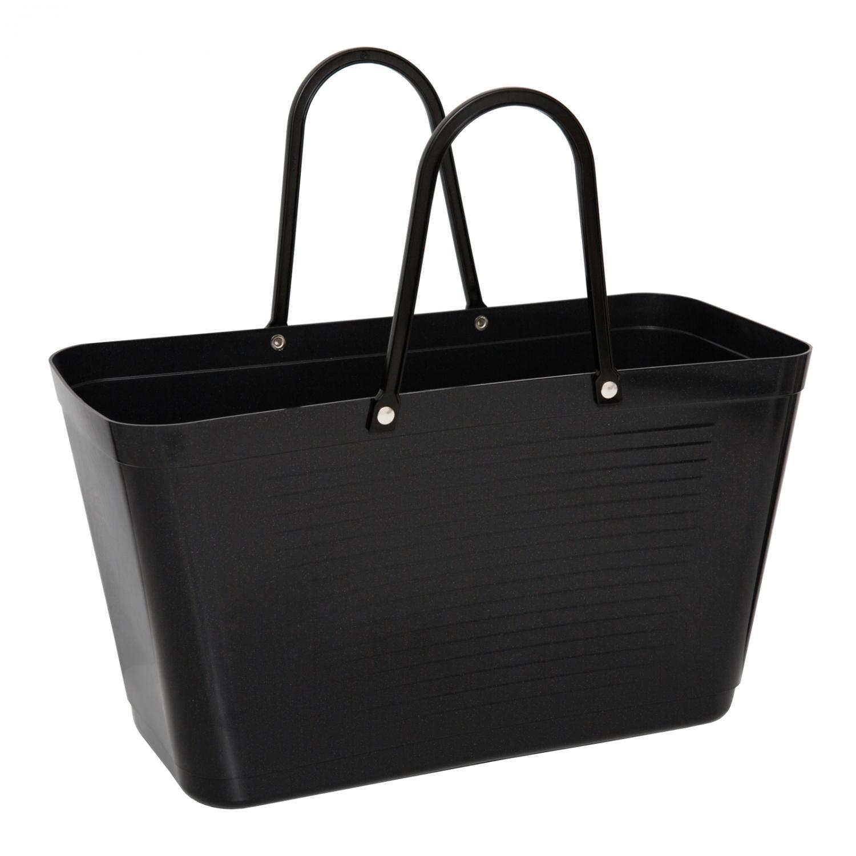 Väska Hinza Stor Svart, Stjärnhimmel - Green Plastic