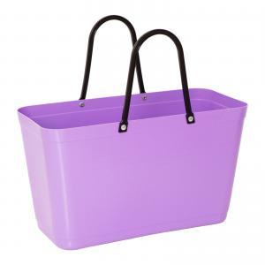 Hinza bag Large Purple - Green Plastic