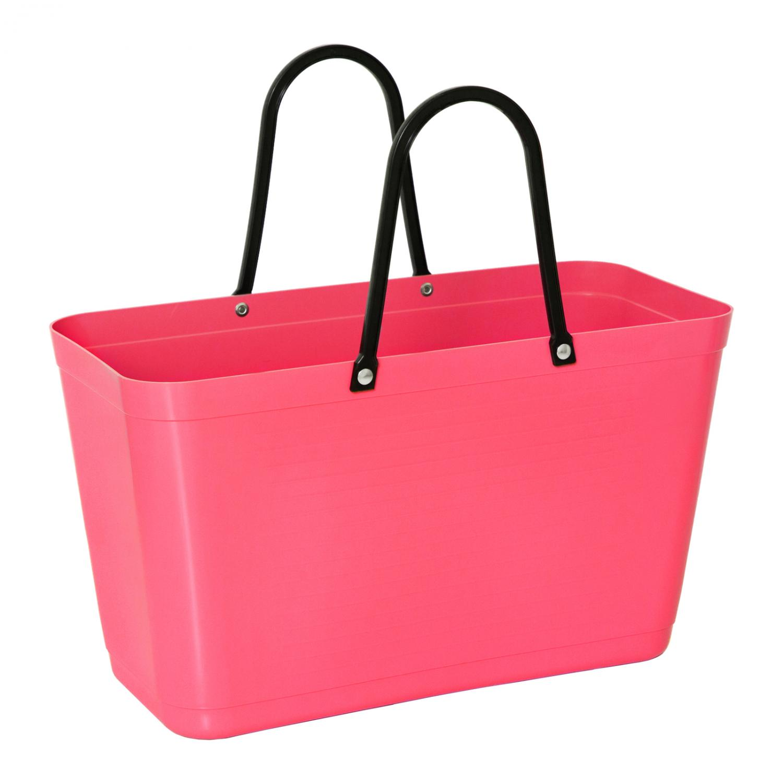 Väska Hinza Stor Tropikrosa - Green Plastic