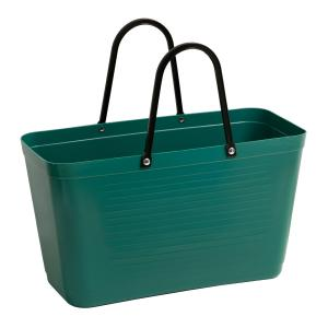 Hinza bag Large Dark Green - Green Plastic