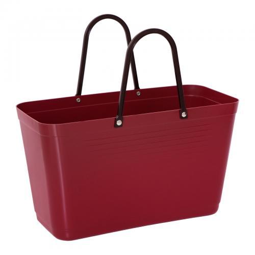 Väska Hinza Stor Vinröd - Green Plastic