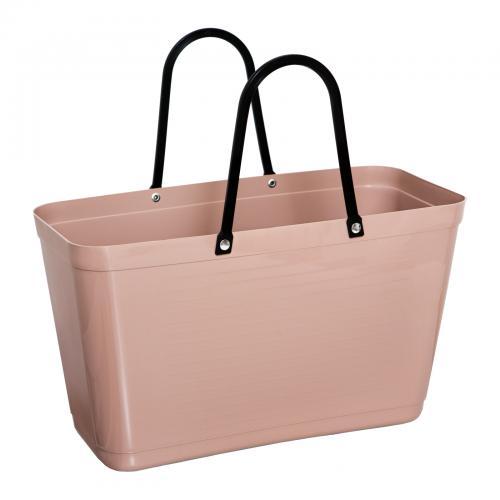 Väska Hinza Stor Nougat - Green Plastic