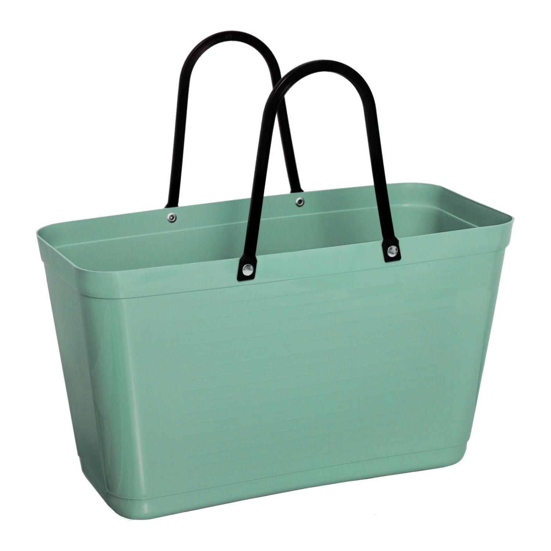 Väska Hinza Stor Olivgrön Green Plastic