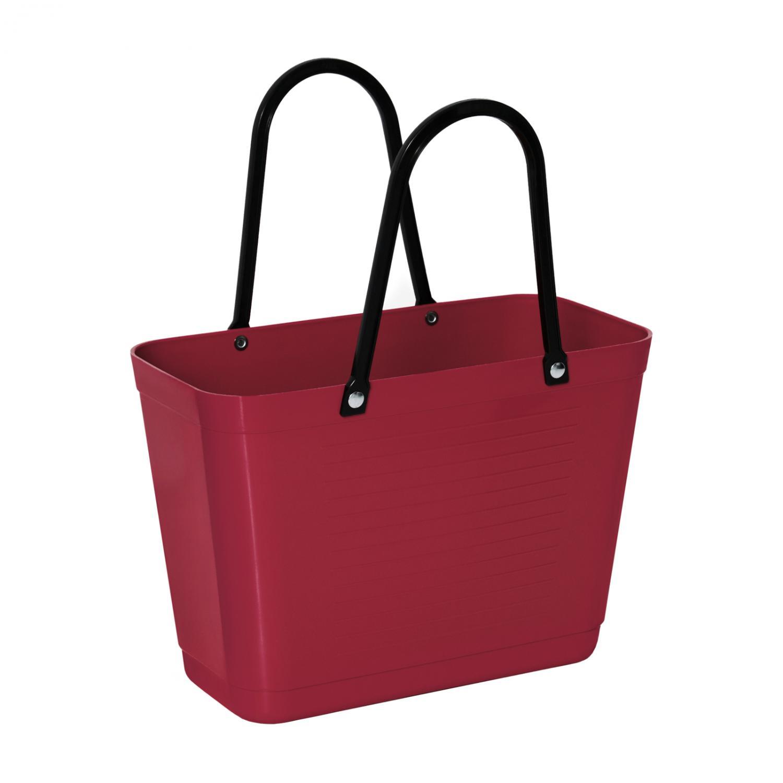Väska Hinza Liten Vinröd - Green Plastic