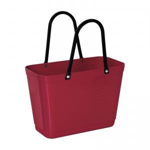 Hinza bag Small Maroon - Green Plastic