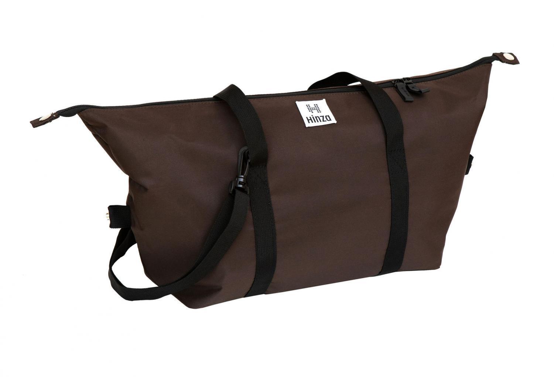 Multi handväska Stor Mörkbrons