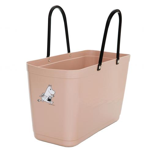 Väska Hinza Stor Nougat - Green Plastic, Muminmamma
