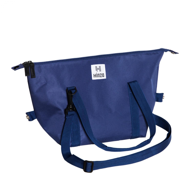 Hinza Multi handväska Liten Blå Stilig och Funktunell