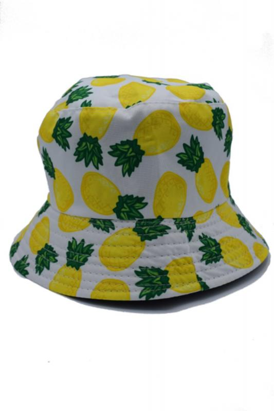 ANANAS PINEAPPLE FISKEMÖSSA BUCKET HAT