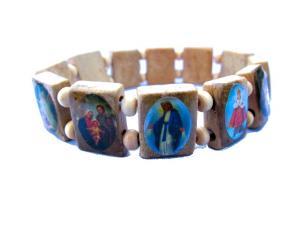 Jesus Armband - Ljusbrun