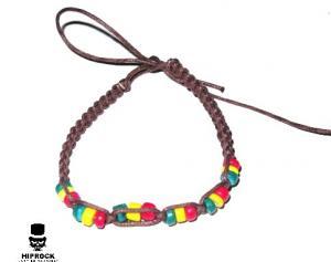 Rasta armband - Pärlor
