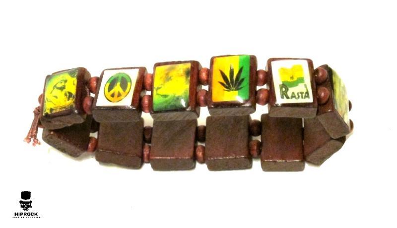 Rasta armband - Reggae ikoner