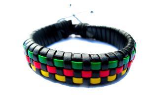 Rasta armband - läder