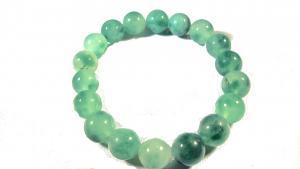 Sten armband - Grön