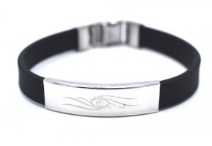 EYE TRIBEL SVART ARMBAND