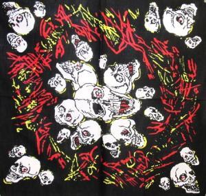 Bandana - Dödskallar