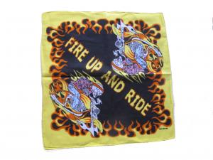 FIRE UP AND RIDE Bandana Scarf