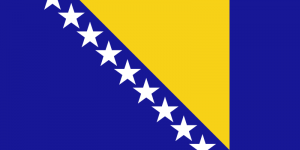 Flagga - Bosnien
