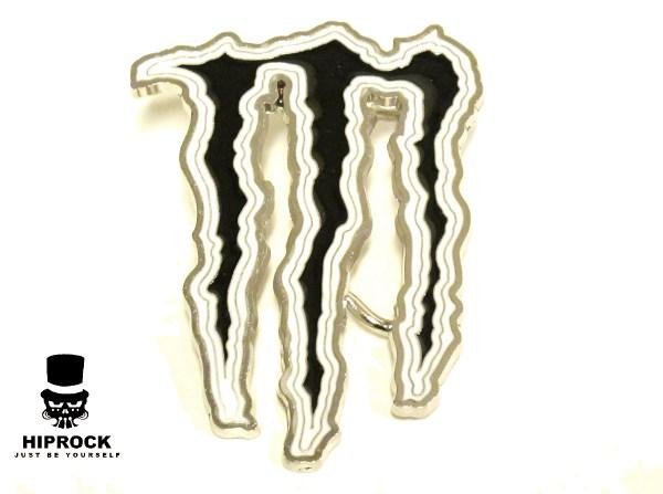 Bältesspänne - Monster Black