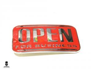Bältesspänne - Open For Business