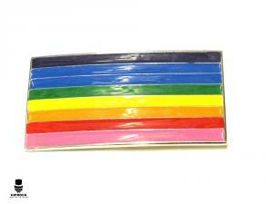 Bältesspänne - Prideflagga