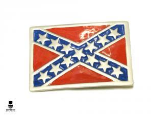 Bältesspänne - Sydstatsflagga
