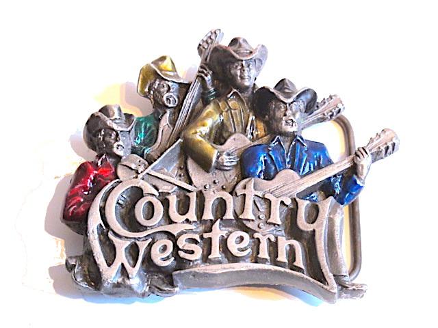 Bältesspänne - Country Western