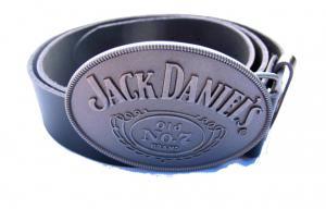 Jack Daniels bälte med spänne