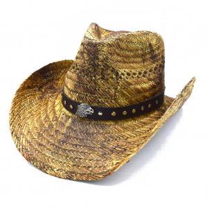Cowboyhatt Örn med runda nitar - handgjord hatt