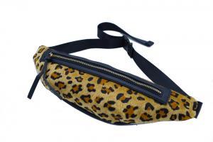 Midjeväska Leopard  Brun