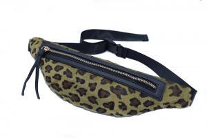 Midjeväska Leopard Grön
