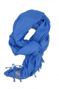 ljusblå Viscose sjal