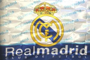 Flagga - Real Madrid