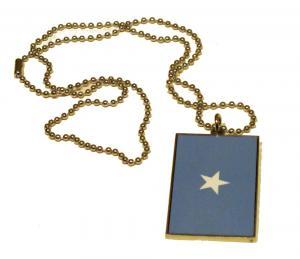 Somalias flagga HALSBAND