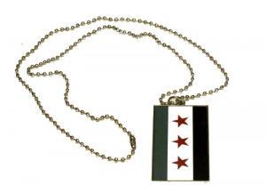 FREE SYRIEN FLAGGA - HALSBAND