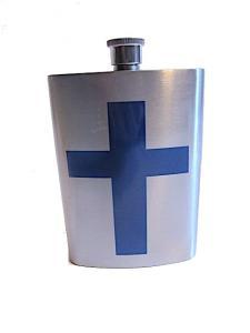 Plunta finland flagga - rostfritt stål