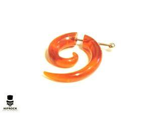Fake Spiral - Akryl Orange