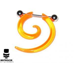 Fake Spiral - Orange Akryl