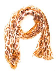 Halsduk med Leopard motiv
