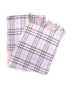 Halsduk - Klassisk rutig rosa