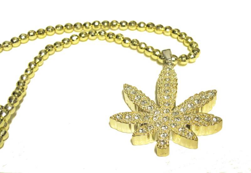 Halsband - Weed Iced