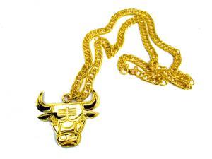 Tjur guldfärgad halsband
