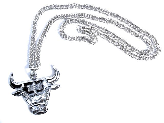 Tjur silverfärgad halsband