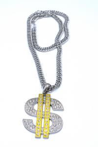 HIPHOP HALSBAND DOLLAR
