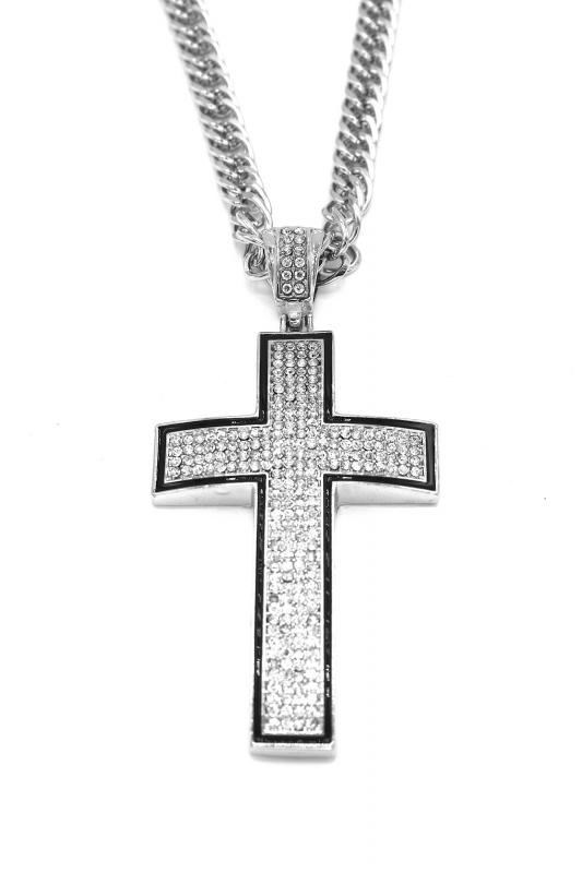 halsband kors silver finns på PricePi.com. 3864a6b3b6f16
