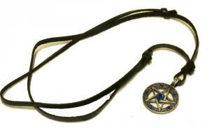 Pentagram halsband